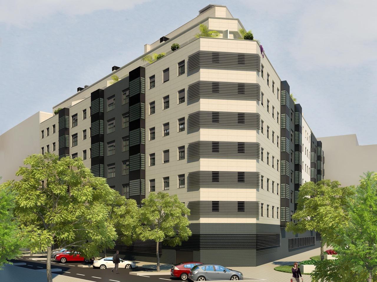 Residencial adelfas ii piso de 3 dormitorios de obra for Piso obra nueva madrid