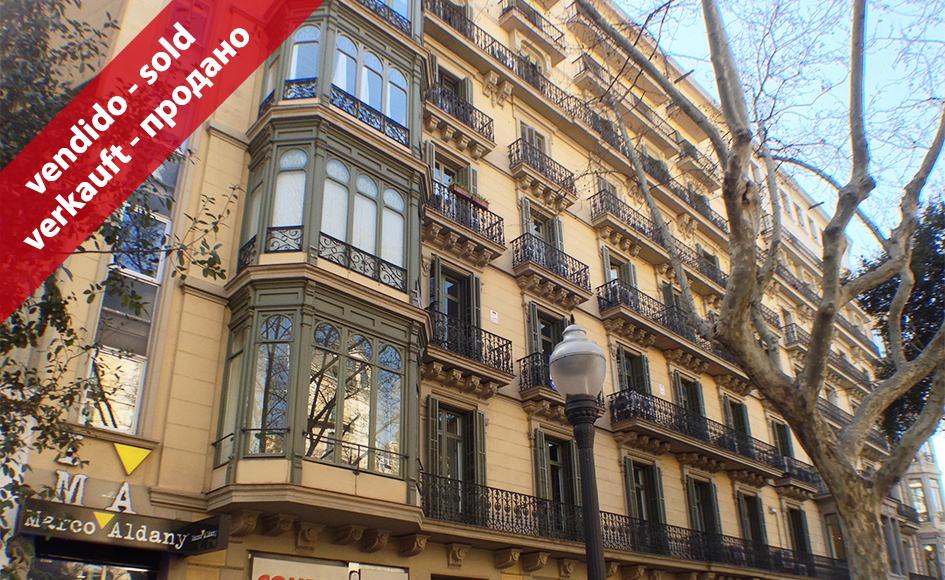 Despacho con opci n a piso en diagonal con paseo de gr cia - Despachos de arquitectura en barcelona ...