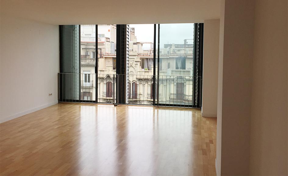 Piso de 73m2 con 1 habitaci n en rambla catalunya barcelona for Habitacion 73 barcelona