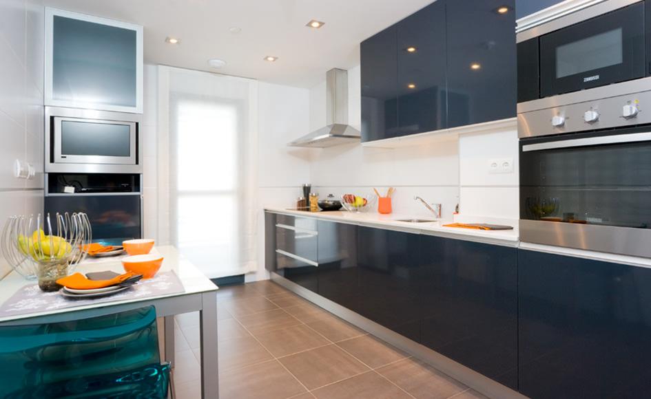Piso de 1 dormitorio residencial nebulosas for Piso una habitacion madrid