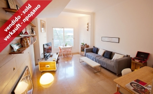 Magnificent property of 82 sqm with 2 bedrooms in Travessera de Gracia (Barcelona)