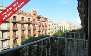 Apartment of 160 sq m with 5 rooms in Girona Street (Eixample Derecho, Barcelona)