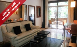 Great apartment of 71 sq m with 3 bedrooms in Les Corts district (Barcelona)