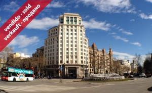 Luxurious apartment in Paseo de Gracia Street with Gran Via street (Eixample, Barcelona)
